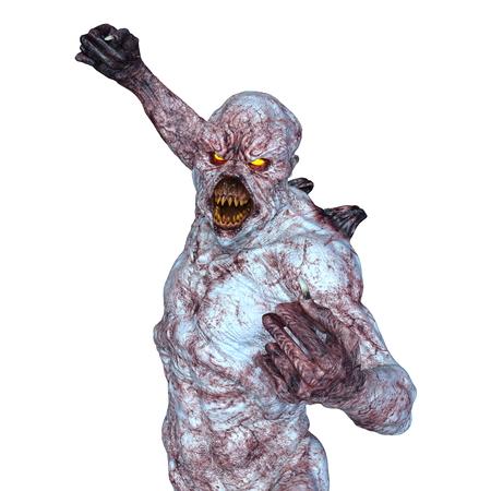 cuerpo entero: monster
