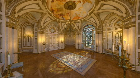 chandelier: hall