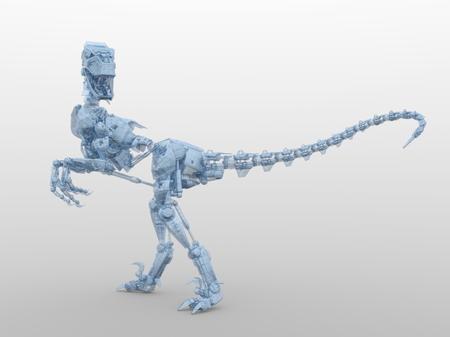 robot dinosaur Stock Photo