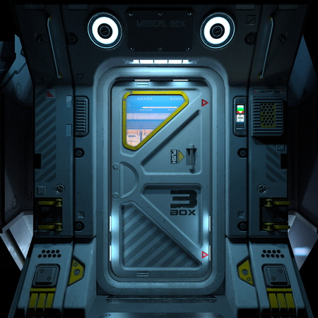 space station door