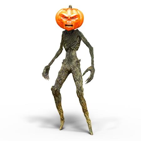 pumpkin head monster