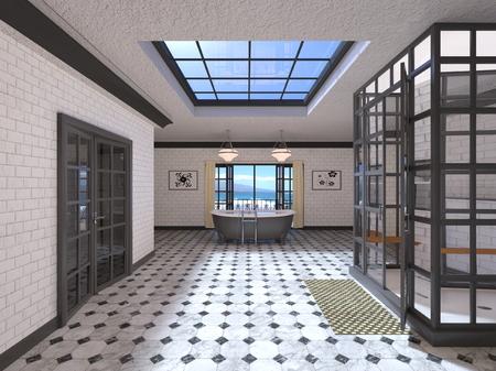 Salle de bains Banque d'images - 91970204