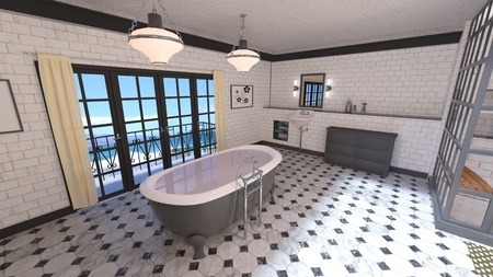 bathroom Stok Fotoğraf