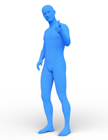 male body Stock Photo