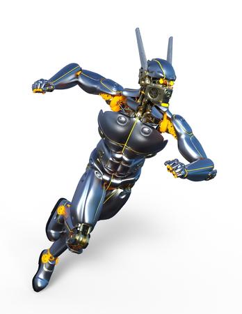 ロボットビルド 写真素材