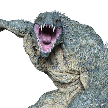 monster in 3d animation
