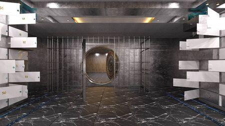 vault room Reklamní fotografie - 98711761