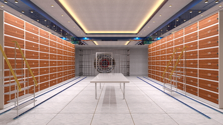 Vault room Stock Photo