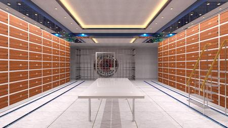 Vault room Reklamní fotografie