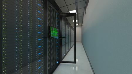 supercomputing center 写真素材