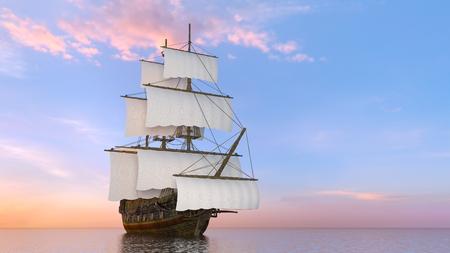 Barco de vela Foto de archivo - 99722180