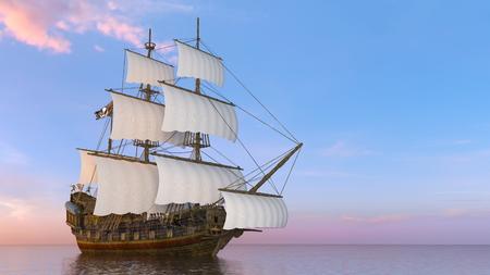 Barco de vela Foto de archivo - 99972054