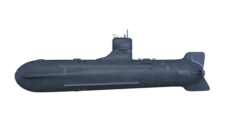 submarine ship 3D Design