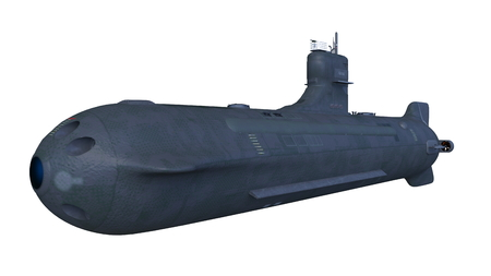 submarine ship 3D