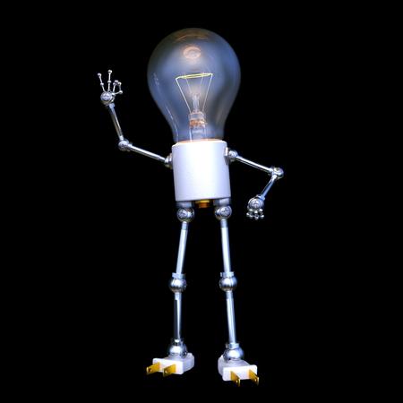 3D CG rendering of 3d Character 写真素材