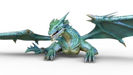 3D CG rendering of doragon 写真素材 - 108200794