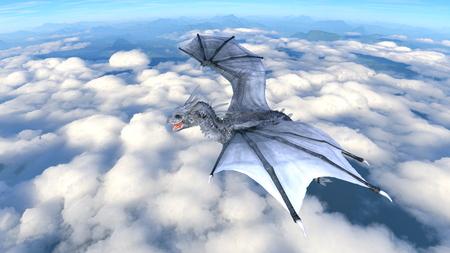 3D CG rendering of doragon 写真素材 - 108470877