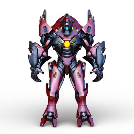 3D CG rendering of robot Stock fotó