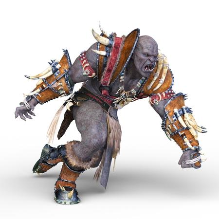 3D CG rendering of black hero 写真素材