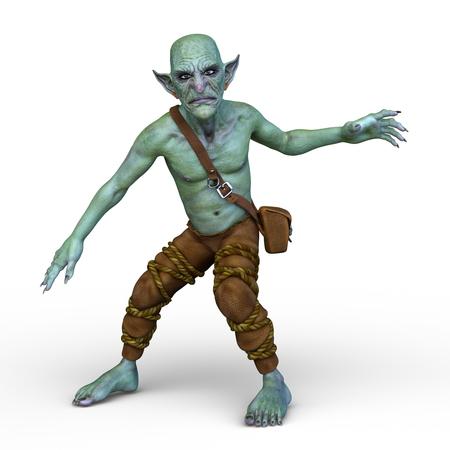 3D CG rendering of fairy