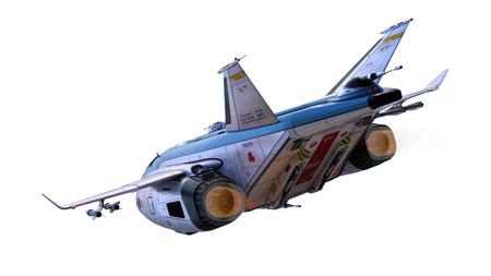 Rendu 3D CG d'avions de chasse