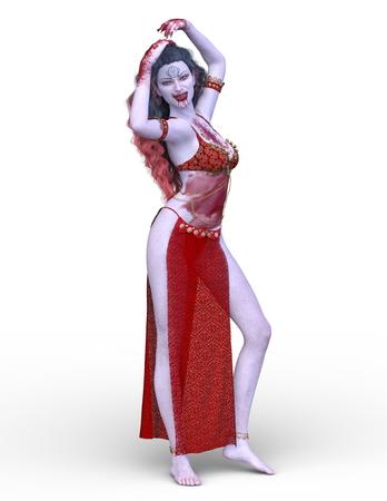 3D CG rendering of Dancer Foto de archivo - 118712582