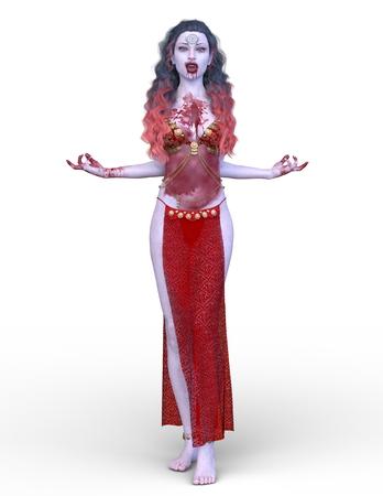 3D CG rendering of Dancer