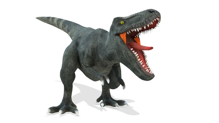 3D CG rendering of Dinosaurs 스톡 콘텐츠