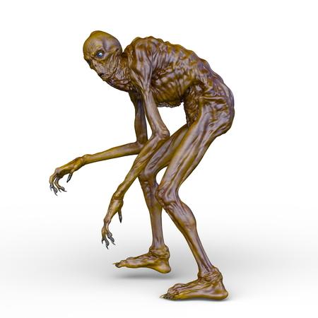 3D CG rendering of monster 写真素材