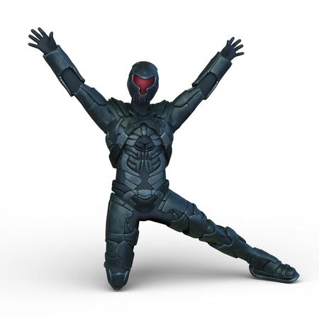 3D CG rendering of hero Reklamní fotografie