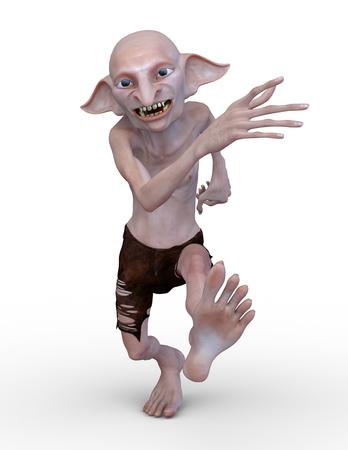 3D CG rendering of hobbit 写真素材 - 122714711