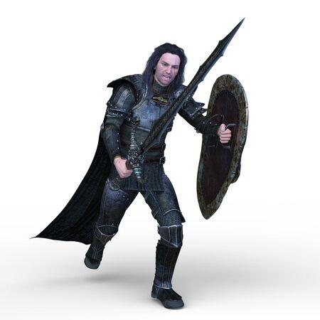 3D CG rendering of Gladiator Stock fotó