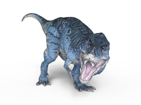3D CG rendering of Dinosaurs 写真素材