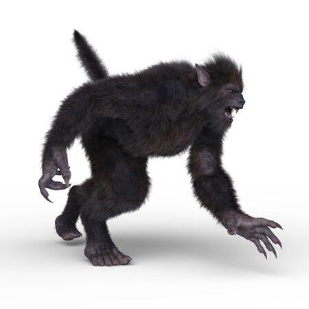 Rendu 3D de monstre