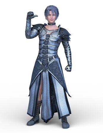 3D CG rendering of hero Zdjęcie Seryjne
