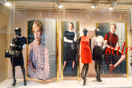 window display: Boutique display window - Singapore ,09 October 2014 Editorial