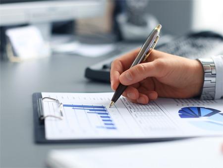 financial market: Stock market graphs monitoring