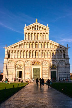 The Pisa Cathedral, Pisa, Tuscany, Italy