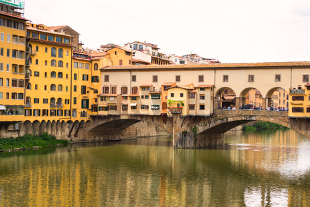 Famous Ponte Vecchio in Florence,Tuscany, Italy