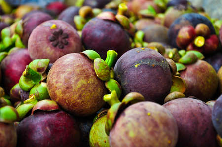 mangosteen of Thailand photo