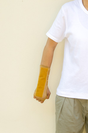 splint: Wrist splint hand and arm