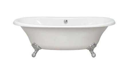 Vintage bathtub isolated