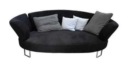 Superieur Modern Oval Sofa Isolated Stock Photo   12991864