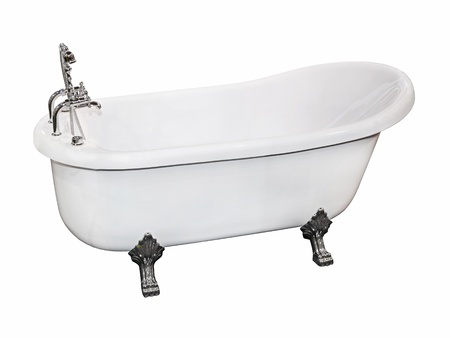 Vintage bathtub Stock Photo