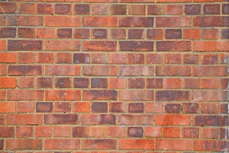 Tuğla duvar cephe yüzeyinin detaylı doku