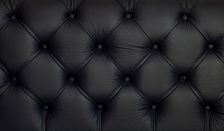 Buruşmuş siyah deri döşeme ayrıntılı doku