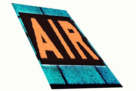 sign with the word air photo