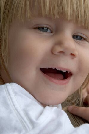 happy little girl Reklamní fotografie