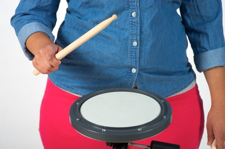 loud: Loud drum dynamic Stock Photo