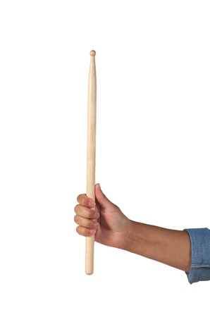 Vertical drumstick with one hand grip Imagens - 21590510